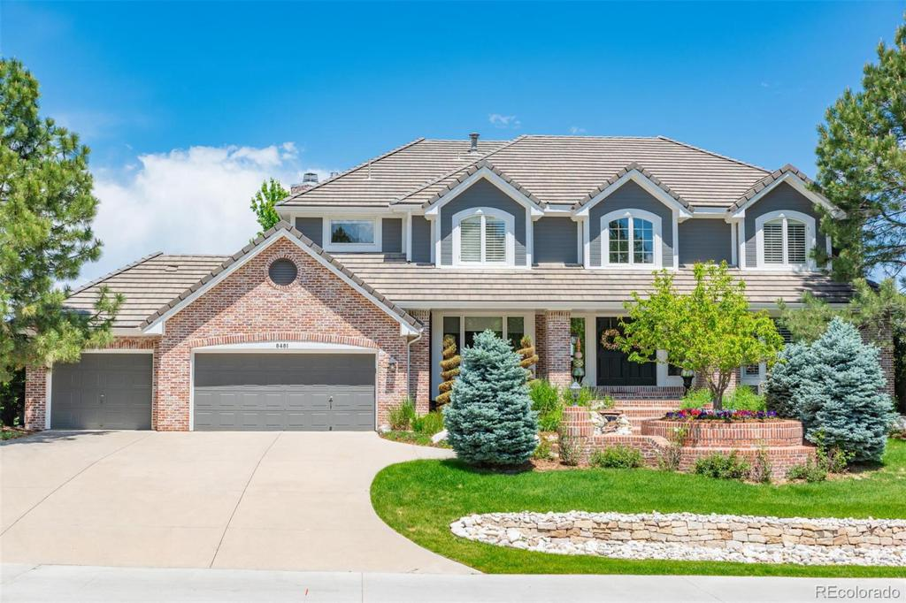 Photo of home for sale at 8481 Colonial Drive, Lone Tree CO