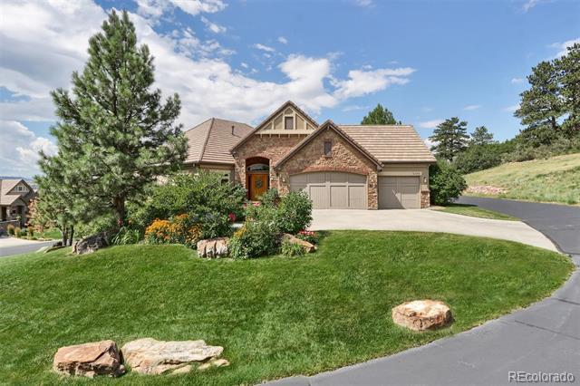 Photo of home for sale at 5109 Pine River Trail, Castle Rock CO