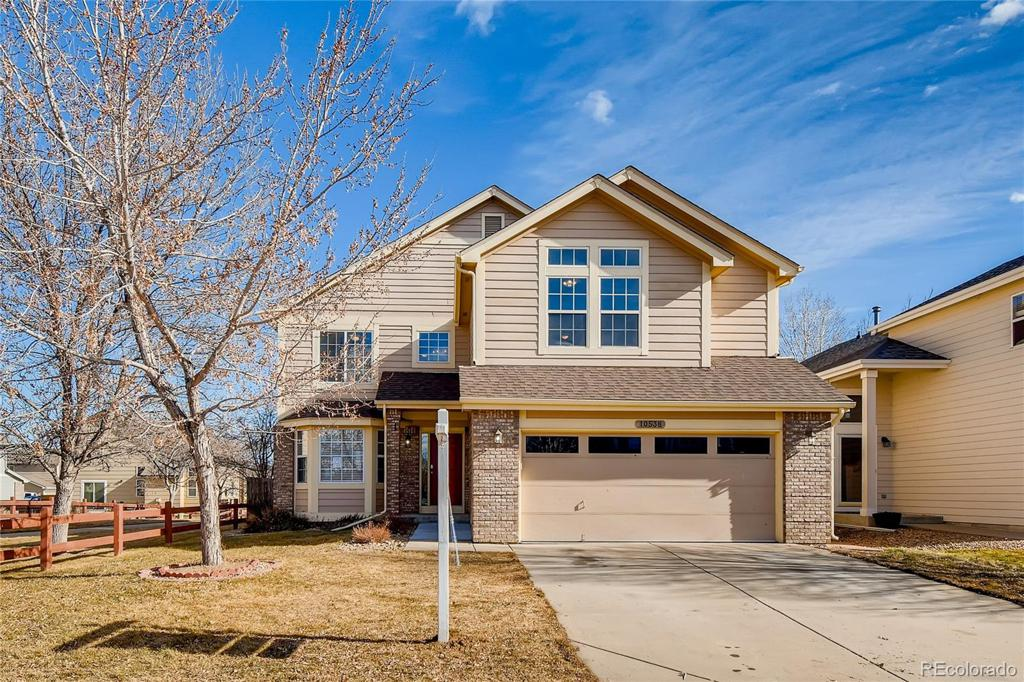 Photo of home for sale at 10538 Falcon Street, Firestone CO