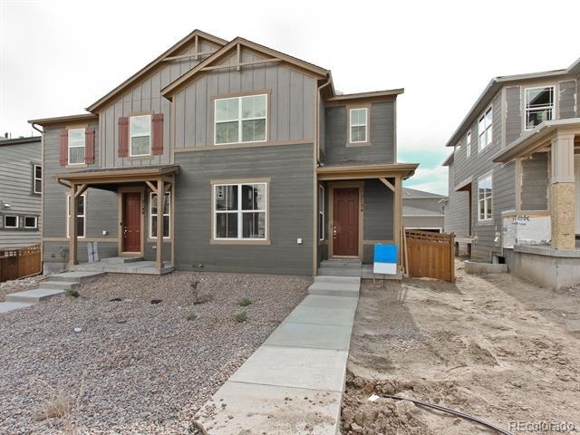 Photo of home for sale at 7154 Othello Street, Castle Pines CO