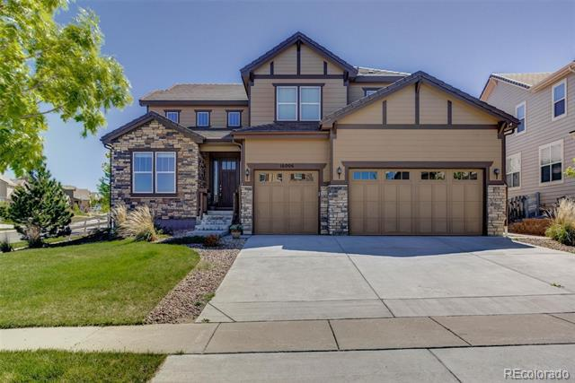 Photo of home for sale at 16006 Wheeler Point, Broomfield CO