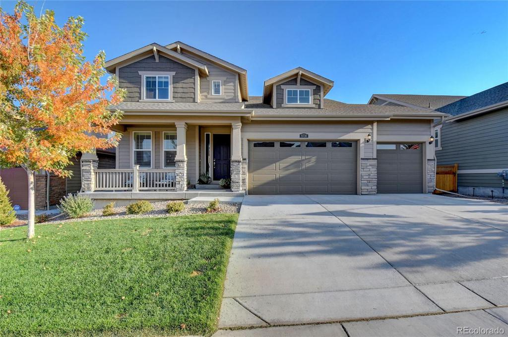 Photo of home for sale at 8730 Larch Trail, Parker CO