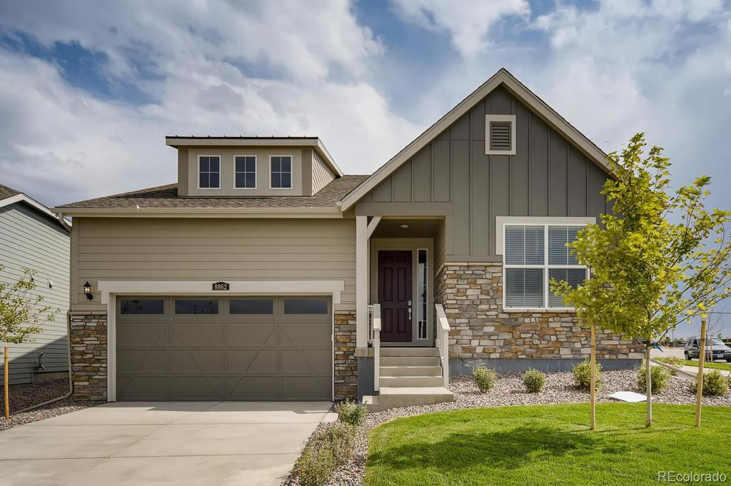 Photo of home for sale at 8862 Sicily Court S, Aurora CO