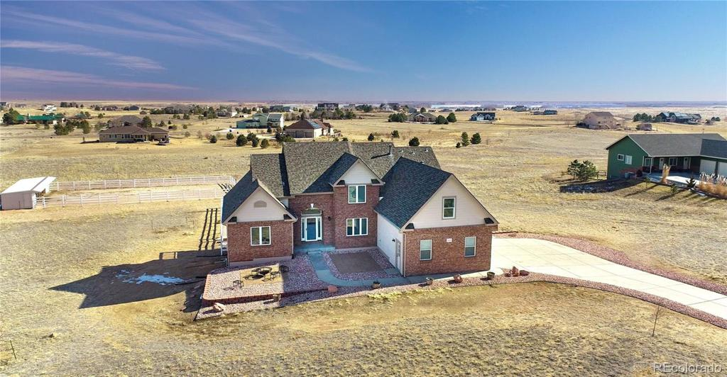 Photo of home for sale at 16491 Fairbanks Drive, Platteville CO