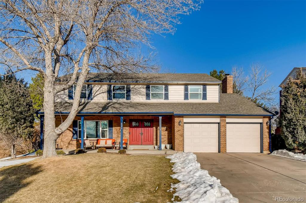 Photo of home for sale at 8088 Madison Way S, Centennial CO