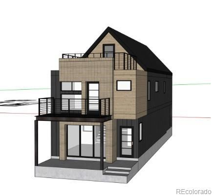 Photo of home for sale at 3413 Navajo Street, Denver CO