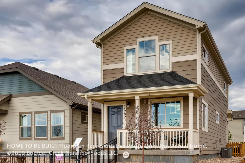 Photo of home for sale at 1218 Hummingbird Circle, Longmont CO