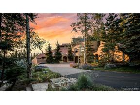 Property for sale at 33791 Meadow Mountain Road, Evergreen,  Colorado 80439