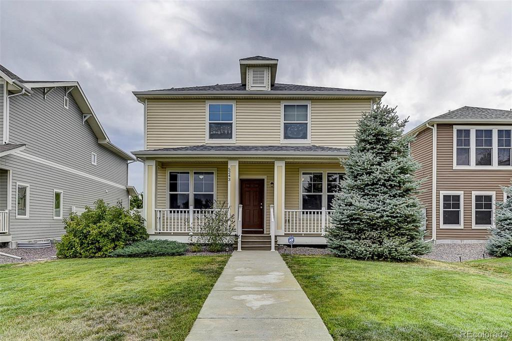 Photo of home for sale at 5243 Dunkirk Street, Denver CO