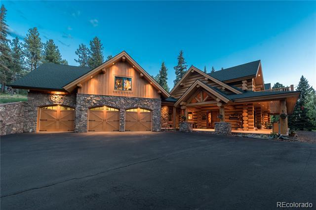 Photo of home for sale at 568 Woodside Drive, Pine CO