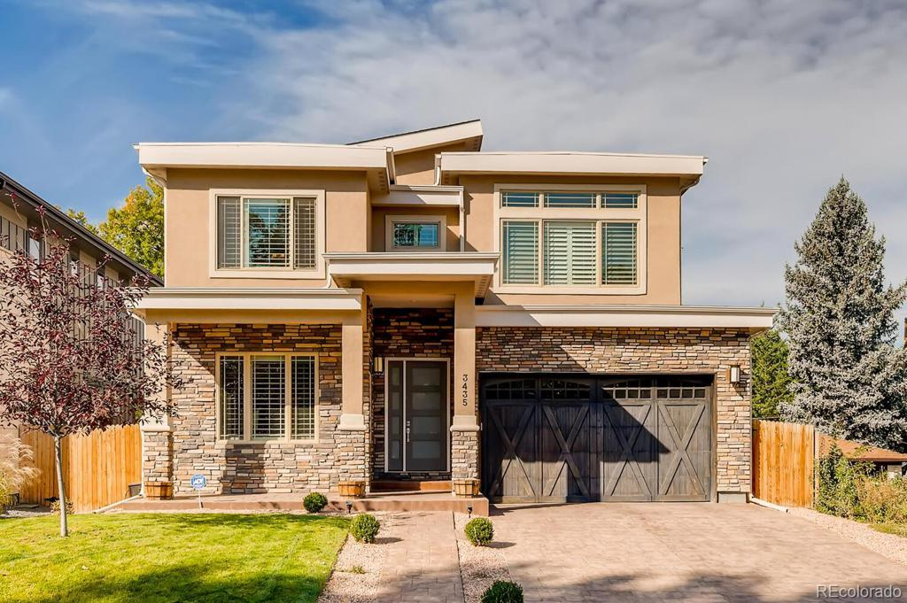 Photo of home for sale at 3435 Bellaire Street S, Denver CO