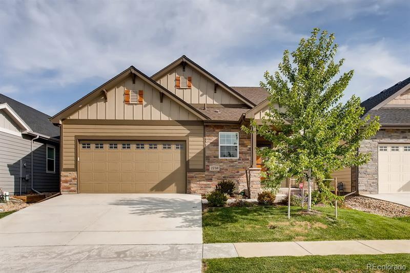 Photo of home for sale at 2238 Maid Marian Court, Fort Collins CO