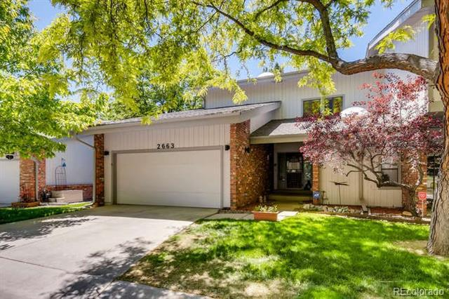 Photo of home for sale at 2663 Wadsworth Circle South, Lakewood CO