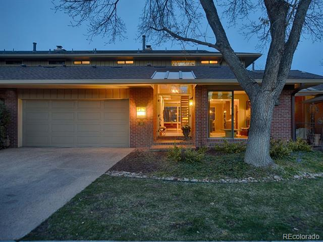 Photo of home for sale at 2800 University Boulevard South, Denver CO