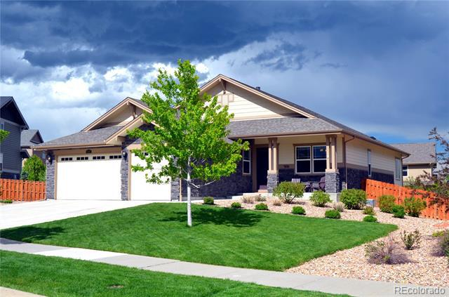 Photo of home for sale at 6032 Little River Court South, Aurora CO