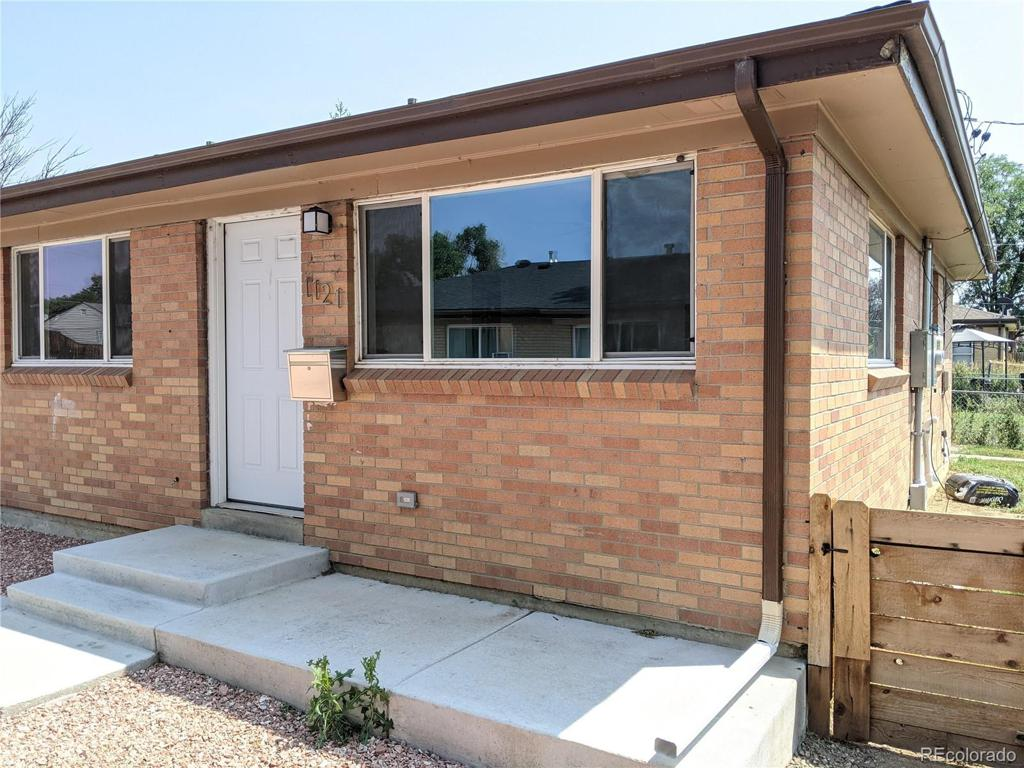 Photo of home for sale at 1121 Xenia Street, Denver CO