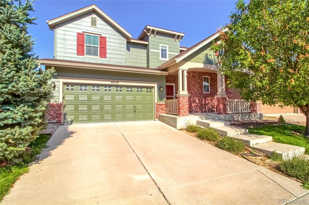 Photo of home for sale at 10230 Truckee Way, Commerce City CO