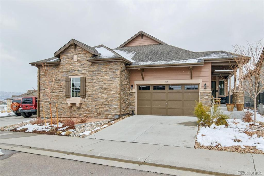 Photo of home for sale at 3618 New Haven Circle, Castle Rock CO