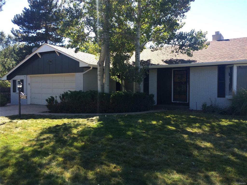 Photo of home for sale at 5401 Clarkson Street S, Greenwood Village CO