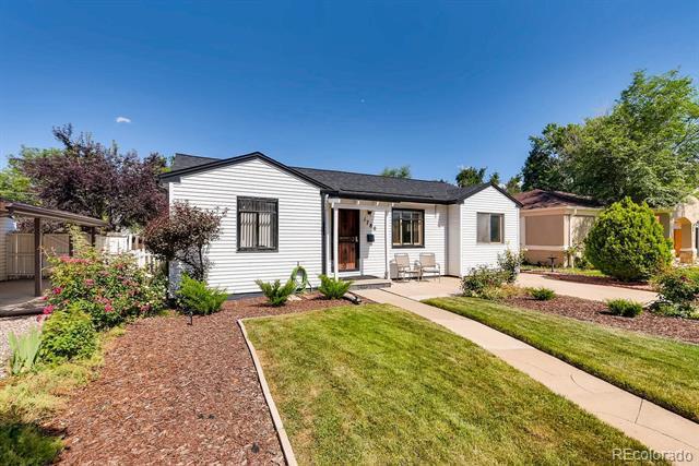 Photo of home for sale at 1780 Wabash Street, Denver CO
