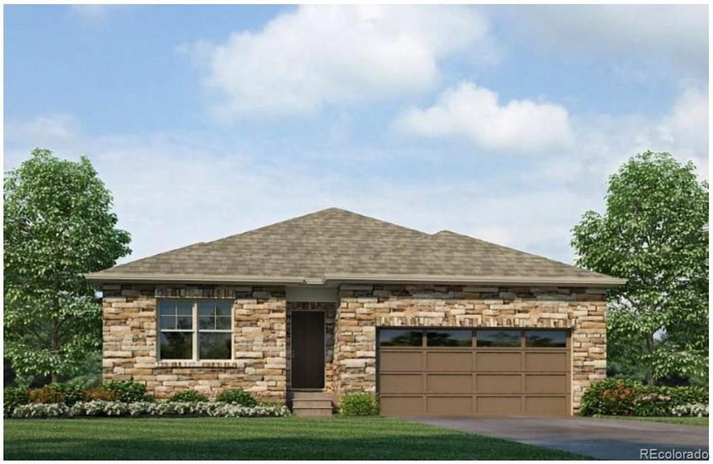 Photo of home for sale at 2198 Rosette Lane, Castle Rock CO