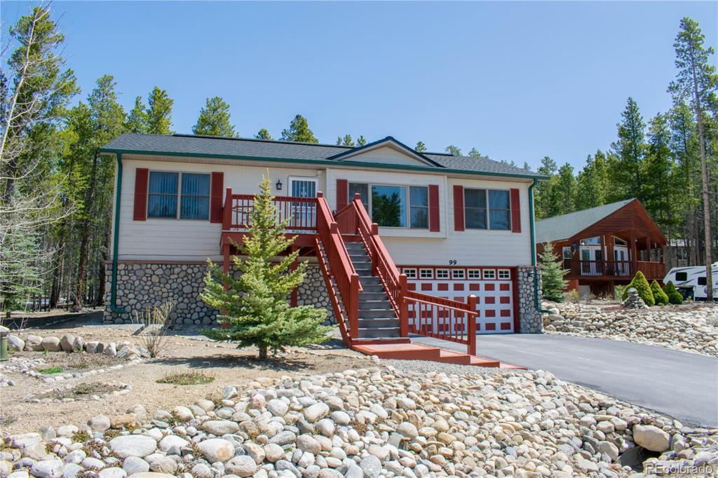 Photo of home for sale at 99 Imogene Circle, Leadville CO
