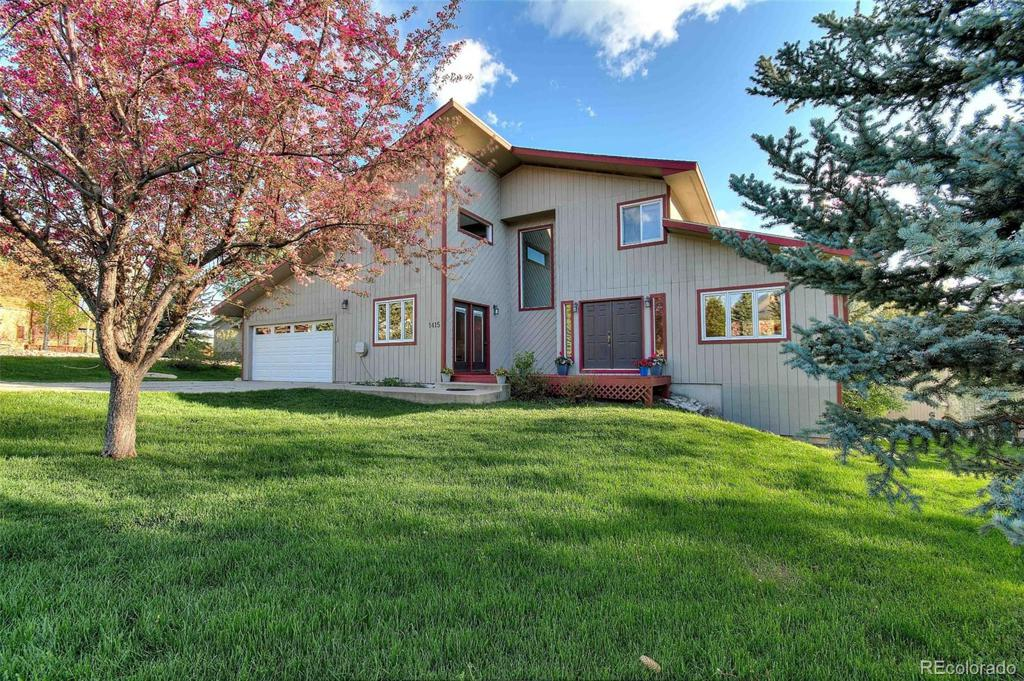 Photo of home for sale at 1415 Delta Queen Court, Steamboat Springs CO