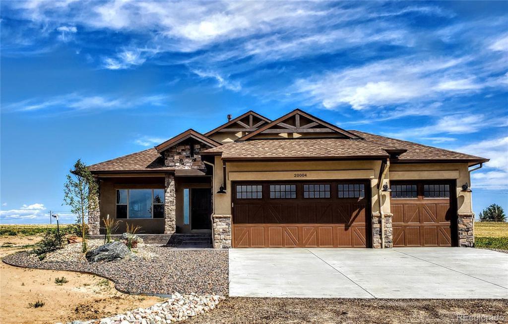 Photo of home for sale at 20004 Silverado Hill Loop, Colorado Springs CO
