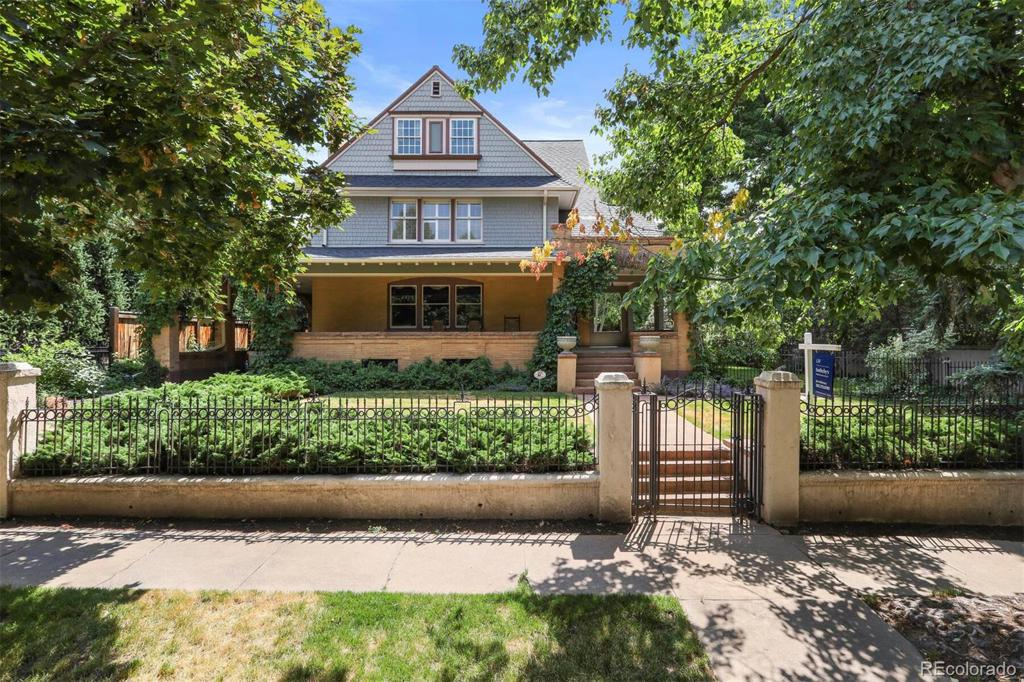 Photo of home for sale at 670 Marion Street N, Denver CO