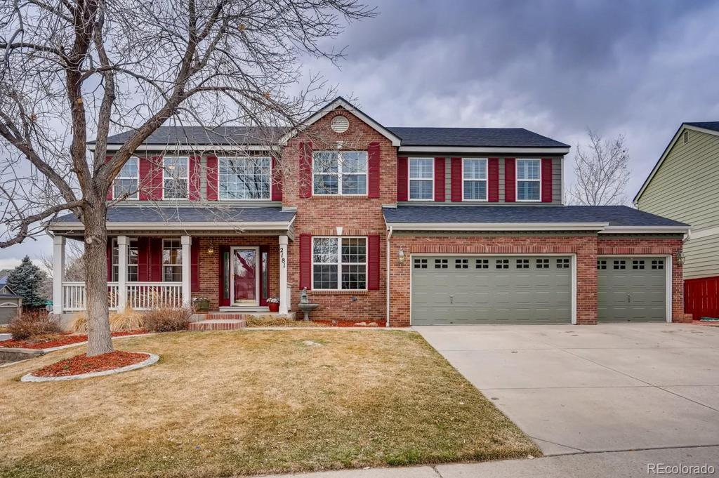 Photo of home for sale at 2181 Maples Place, Highlands Ranch CO