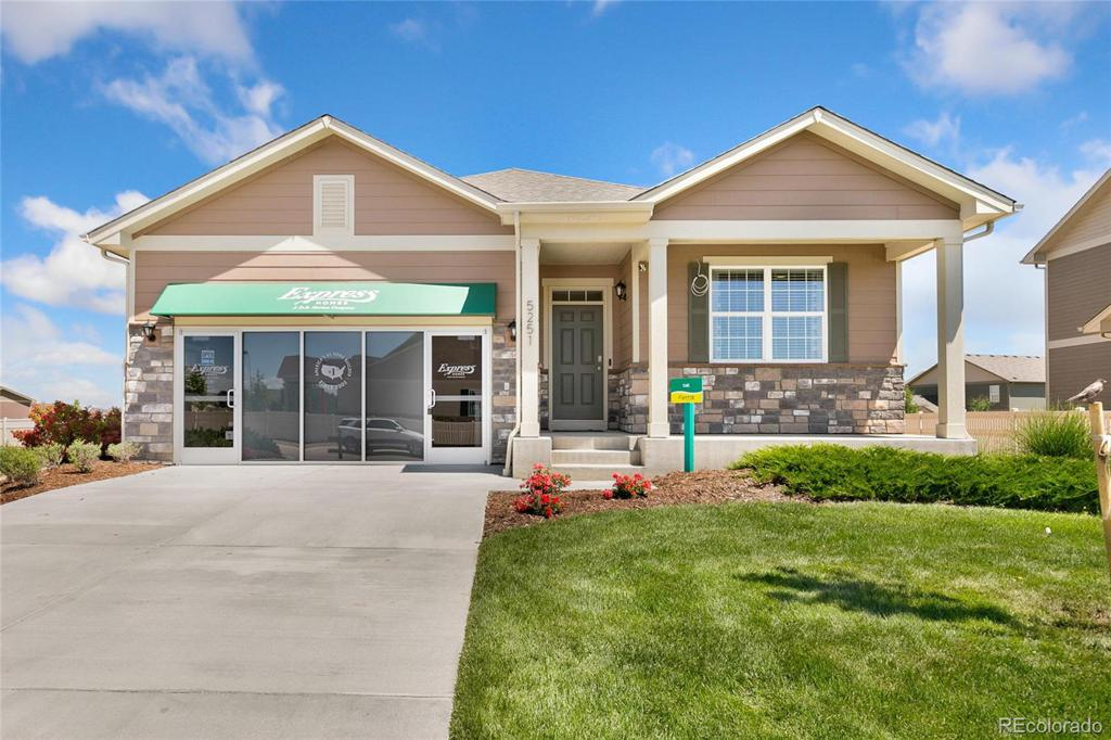 Photo of home for sale at 20009 61st Drive E, Aurora CO