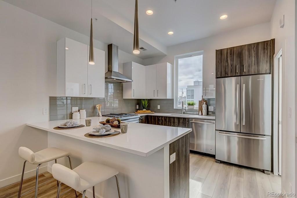 Photo of home for sale at 1612 Irving Street, Denver CO