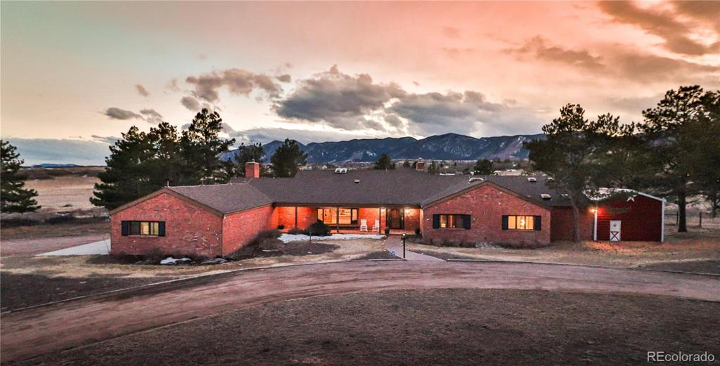 Photo of home for sale at 2020 Baptist Road W, Colorado Springs CO
