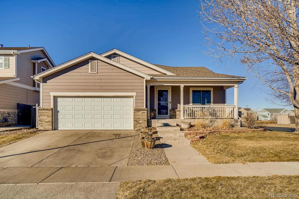 Photo of home for sale at 10131 Chambers Drive, Commerce City CO