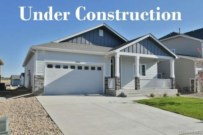 Photo of home for sale at 2188 Cadman St., Berthoud CO