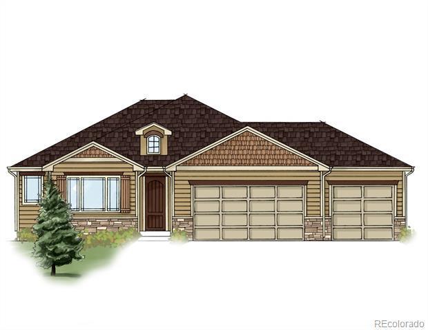 Photo of home for sale at 5028 Prairie Lark Lane, Severance CO