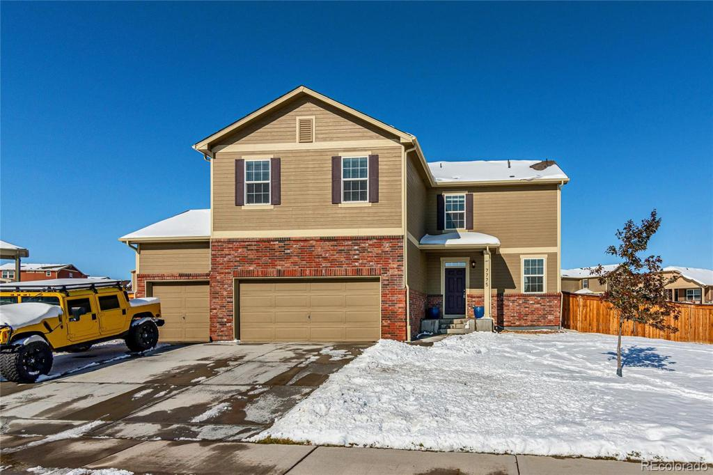 Photo of home for sale at 7775 136th Drive E, Thornton CO