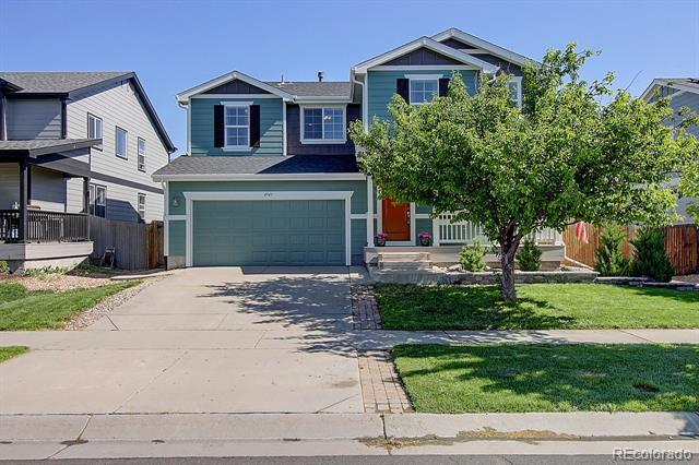 Photo of home for sale at 4947 Longs Peak Street, Brighton CO