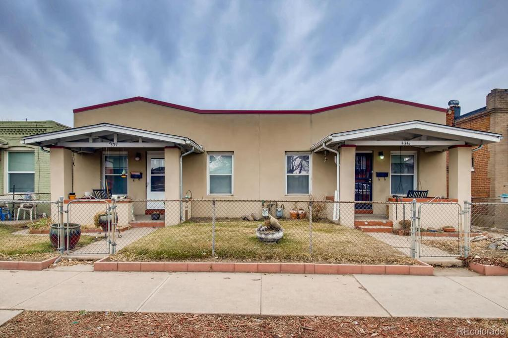 Photo of home for sale at 4341 Josephine Street, Denver CO