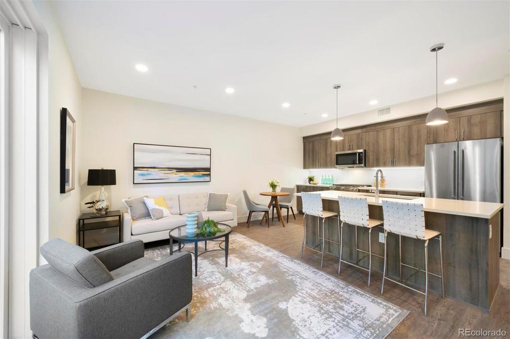 Photo of home for sale at 431 Bayaud Avenue E, Denver CO