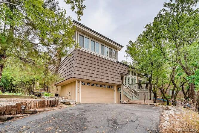 Photo of home for sale at 432 Gordon Drive, Castle Rock CO