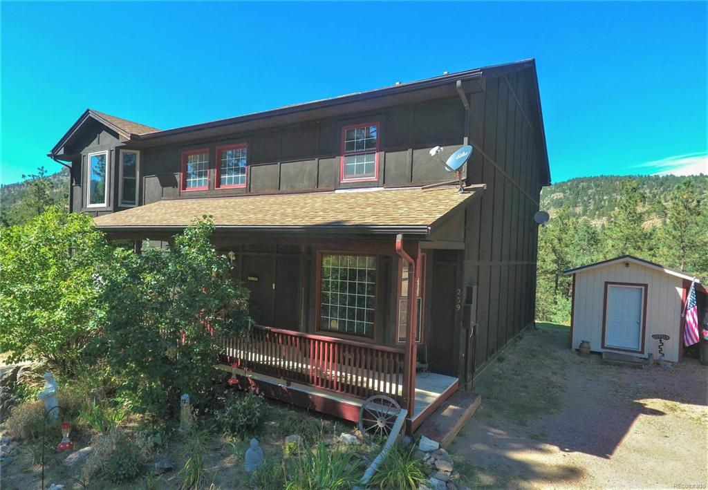 Photo of home for sale at 239 Bailey Drive, Bailey CO