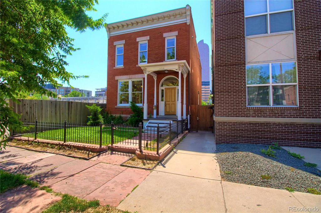 Photo of home for sale at 1719 Pearl Street, Denver CO