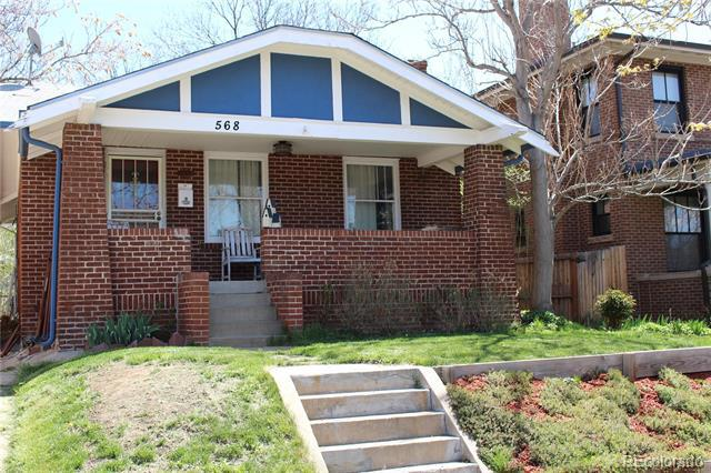 Photo of home for sale at 568 Fillmore Street, Denver CO