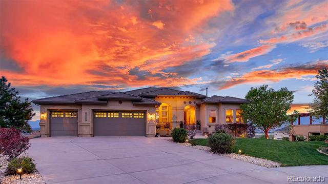 Photo of home for sale at 15850 Bridle Ridge Drive, Monument CO