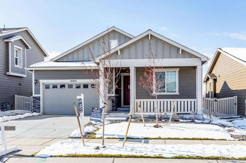 Photo of home for sale at 10441 Yosemite Street, Commerce City CO