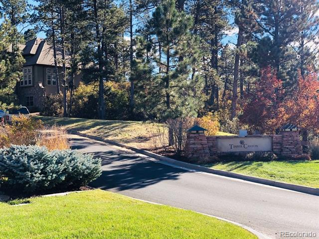 Photo of home for sale at 5261 Knobcone Drive, Castle Rock CO
