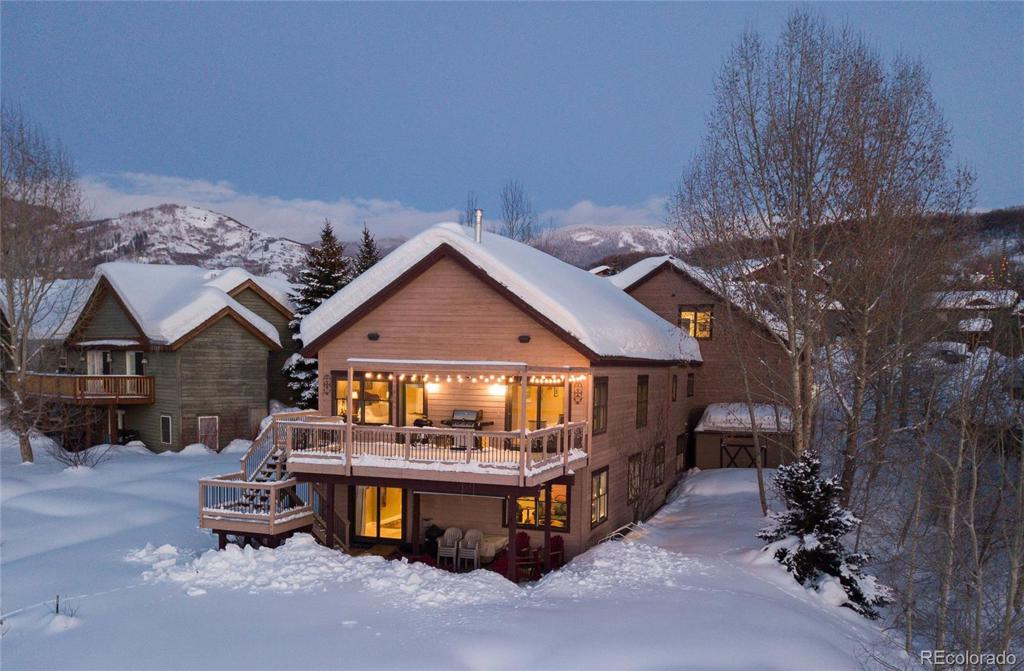 Photo of home for sale at 332 Apple Drive, Steamboat Springs CO