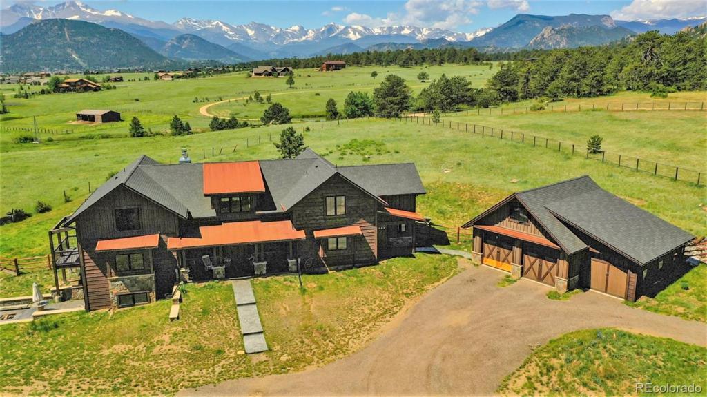 Photo of home for sale at 2120 Ridge Road, Estes Park CO