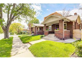 Property for sale at 391 South Humboldt Street, Denver,  Colorado 80209